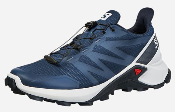 Chaussures de Trail Salomon Supercross pour Hommes - Tailles au choix