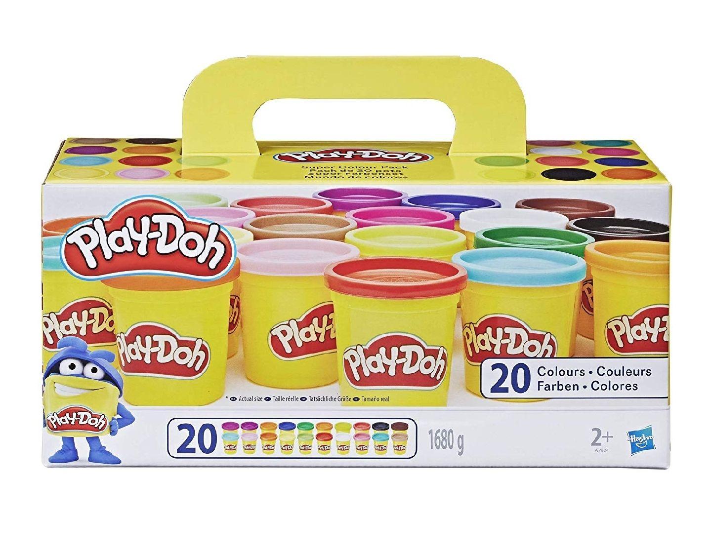 Lot de 20 pots de pâte à modeler Play Doh