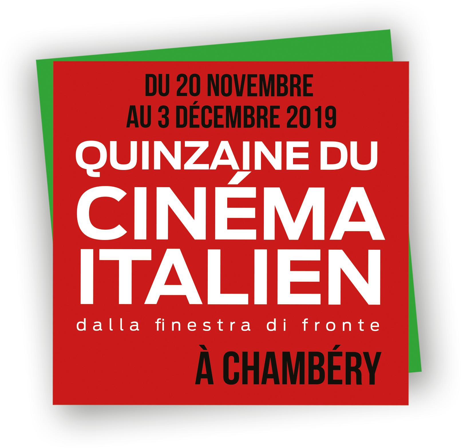 [Quinzaine du cinéma italien] 7 places de cinéma pour 30€ - Chambéry (73)