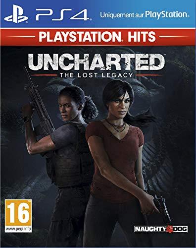 Sélection de jeux Playstation Hits en promotion - E x: Uncharted : The Lost Legacy Hits sur PS4