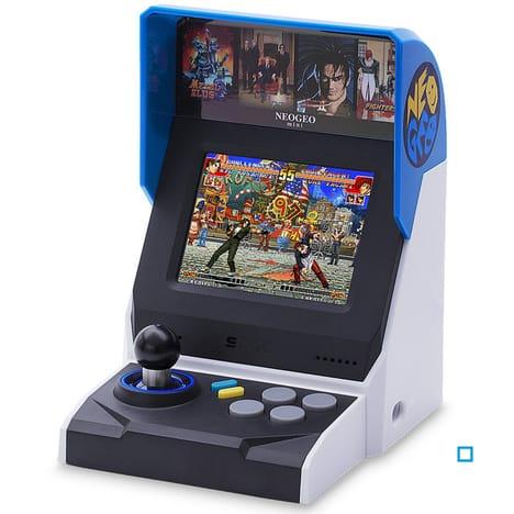 Mini Neo Geo HD International SNK (via 90.99€ sur la carte)