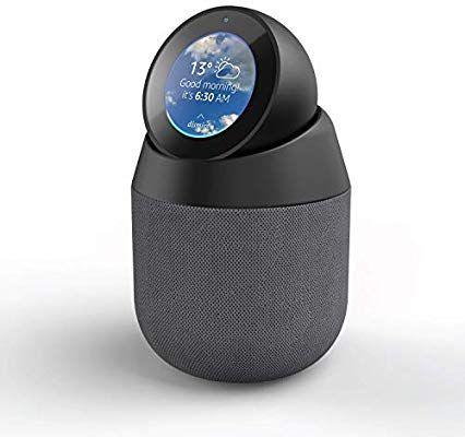 Station d'accueil Portable Vault pour Haut-Parleur avec Support pivotant Amovible pour Amazon Echo Spot