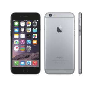 Smartphone iPhone 6 - 16 Go, Gris sidéral, Reconditionné