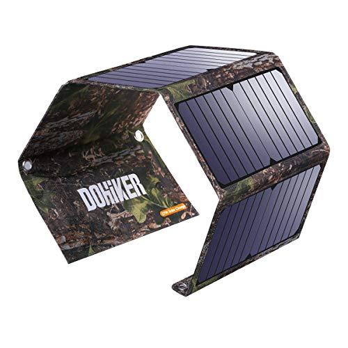 Chargeur Panneau Solaire Portable Pliable Dohiker - 27W, Imperméable 5V 3.1A