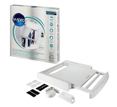 Kit de superposition lave-linge / séche-linge universel Wpro SKP101
