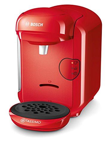Machine à Café Capsule 1300W Bosch Tassimo TAS1403 - Rouge