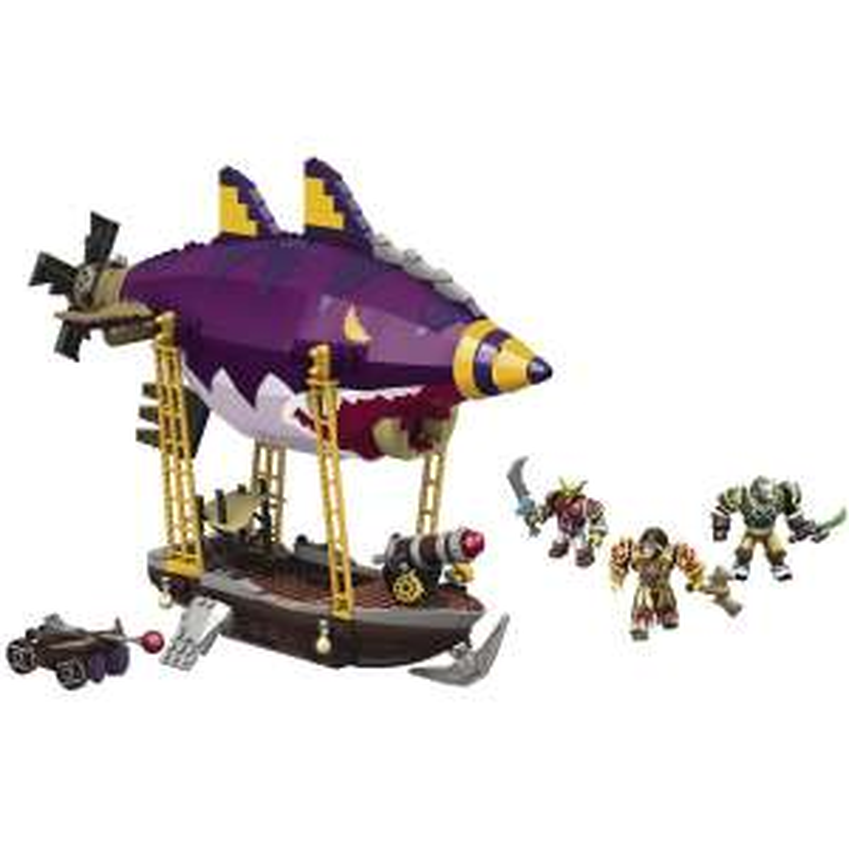 Jeu de construction Megabloks - World of Warcraft : Embuscade de Zeppelin Gobelin