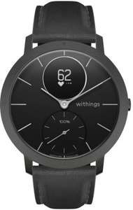 Montre connectée hybride Withings Steel HR Sapphire Signature - 40 mm, noir