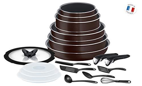 Batterie De Cuisine Tefal Ingenio Essential L2389002 - 20 pièces, Tous Feux sauf Induction