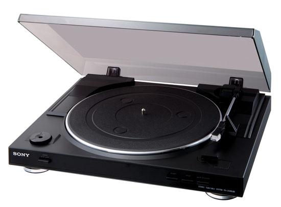 Platine vinyle Sony PSLX300 USB Noir