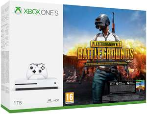 Pack console Microsoft Xbox One S (1 To) + PlayerUnknown's Battlegrounds (PUBG)