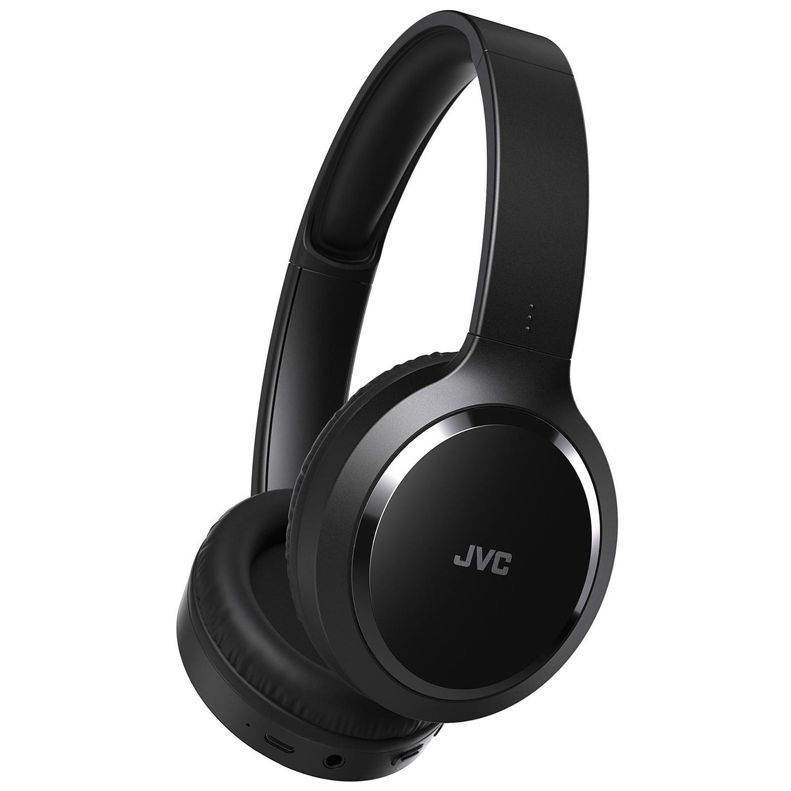 Casque Bluetooth JVC HA-S60BT-B-E, Circum aural, 17h d'autonomie (via ODR 10€)