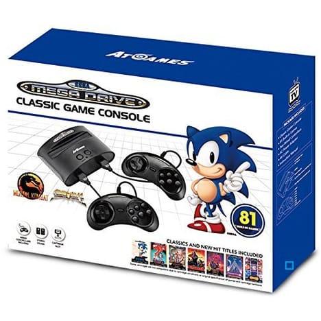Console ATGames Megadrive avec 81 Jeux + 2 Manettes (via 41,99 € sur la carte fidélité)