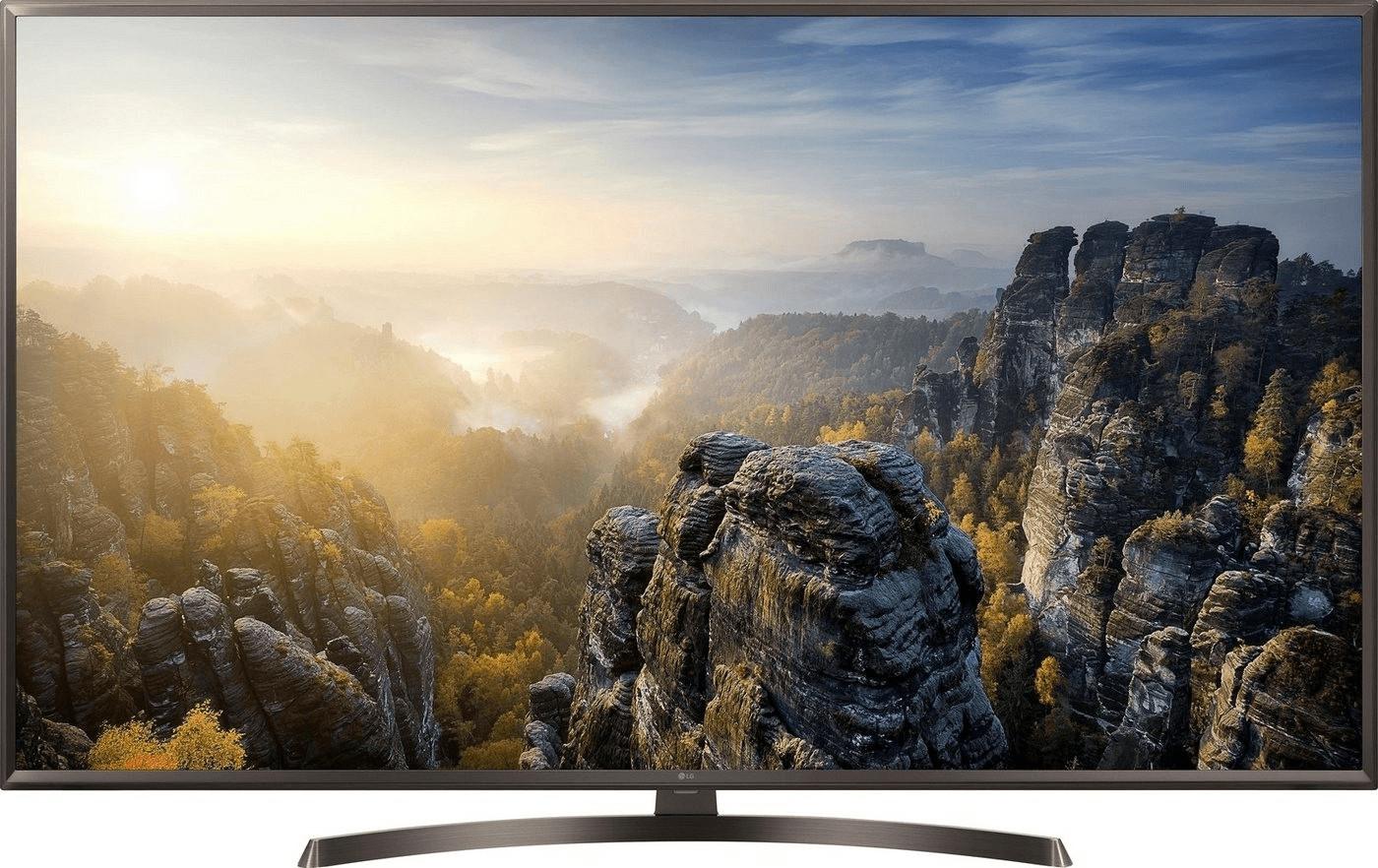 """TV 65"""" LG 65UK6400 - 4K UHD, HDR, LED, Smart TV, ThinQ AI, 1600 ppi (+ 50€ en bon d'achat)"""