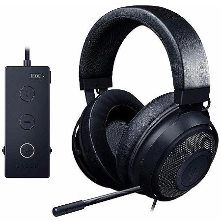 Casque audio gamer Razer Kraken Tournament Edition + Contrôle audio avec son spatial THX