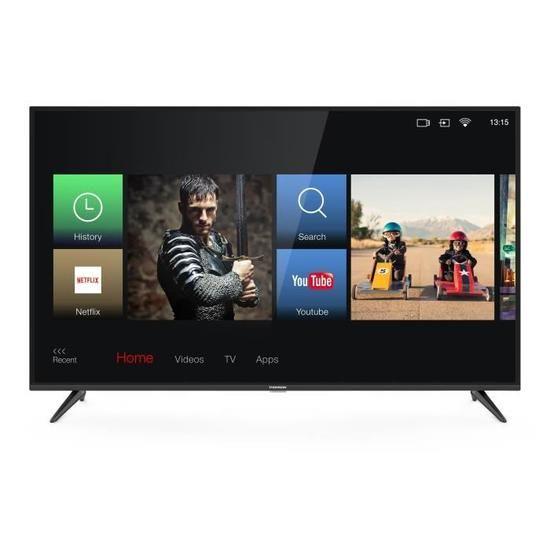 TV LED 43'' Thomson 43UV6006 - 4K UHD, HDR, Smart TV