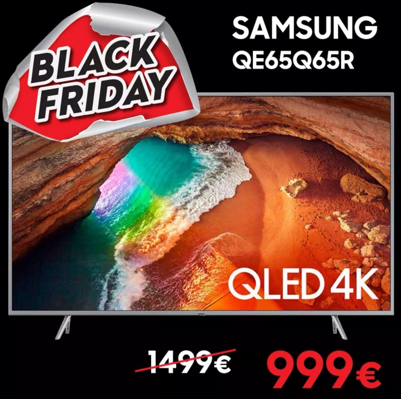 "TV 65"" QLED Samsung Q65Q65R - 4K UHD, Smart TV"