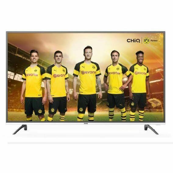 "TV 40"" CHiQ - UHD 4K, HDR 10, Dolby Digital"