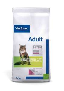 Alimentation chat Virbac Veterinary HPM Adult Neutered Cat 12 kg (lacompagniedesanimaux.com)