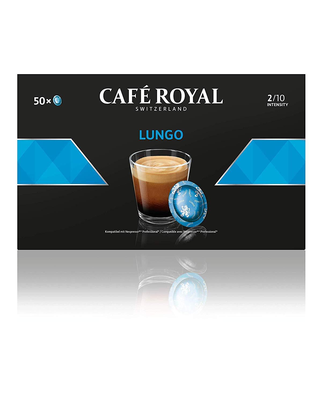 50 Dosettes de Café Royal Lungo compatibles Nespresso Pro