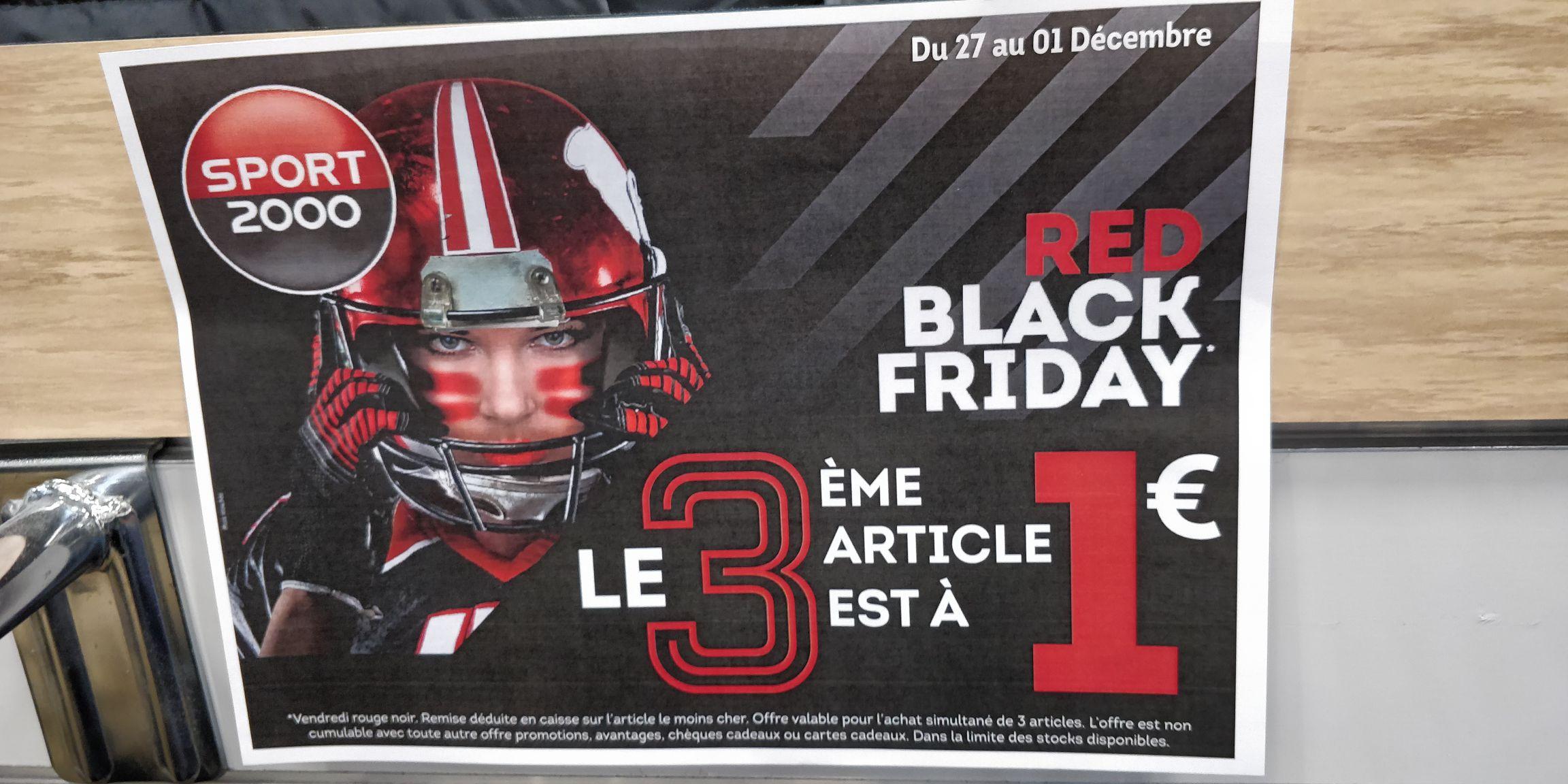 2 articles achetés = le 3ème à 1€ (hors exceptions - le moins cher) - Epargny sur Oise (95)