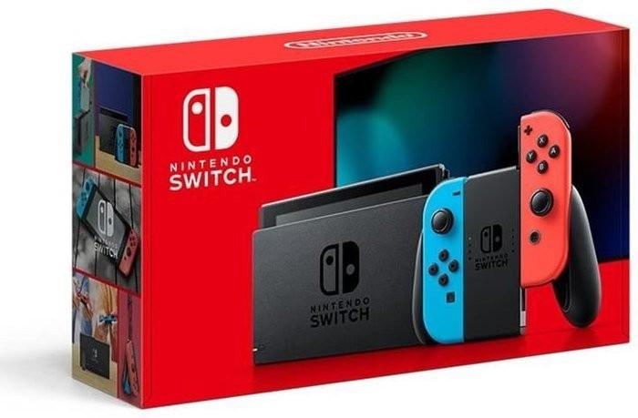 Console Nintendo Switch 2019 - avec paire de Joy-Con Néon ou Gris (via 87.87€ en bon d'achat) - Bonneuil-sur-Marne (94)