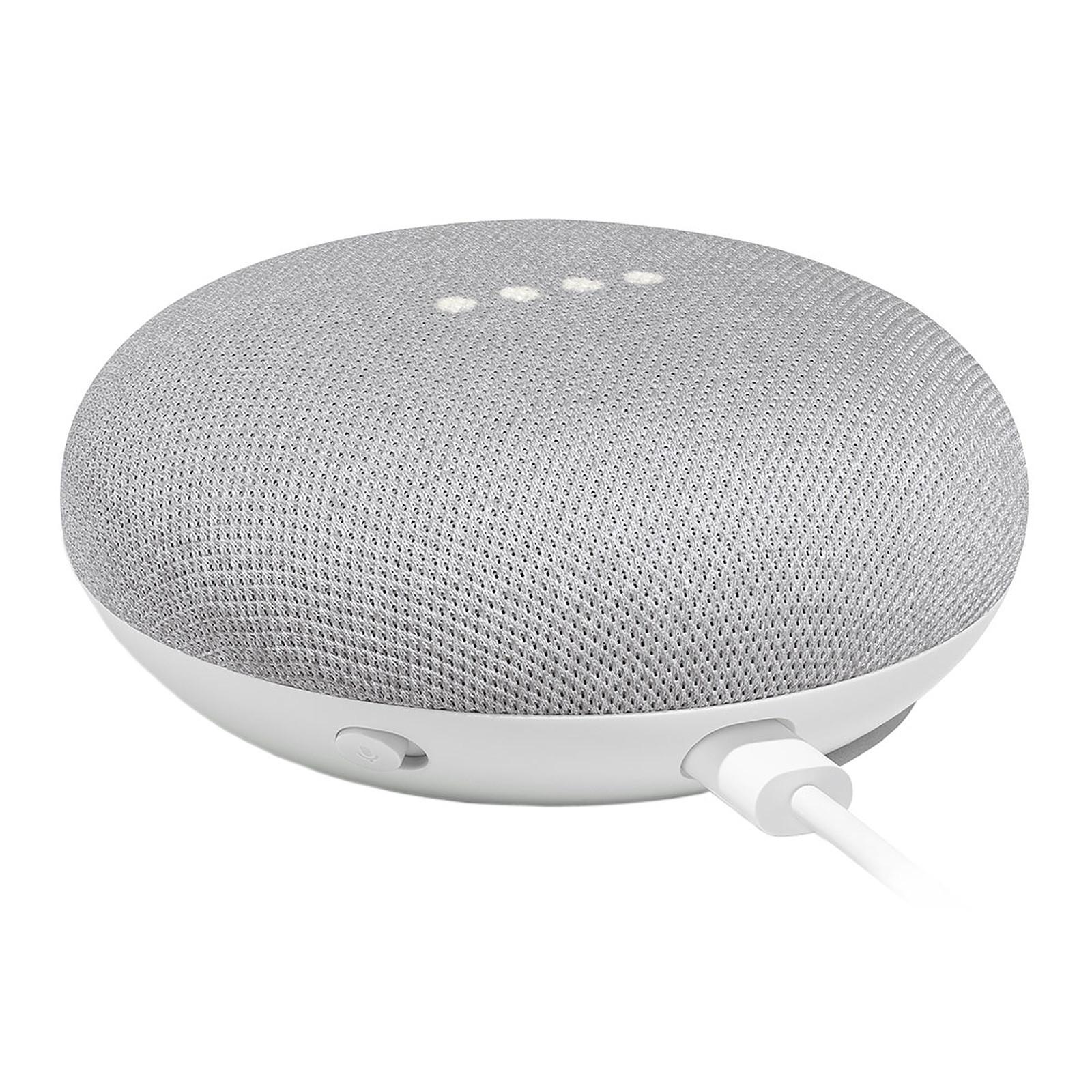 Assistant vocal Google Home Mini - Galet