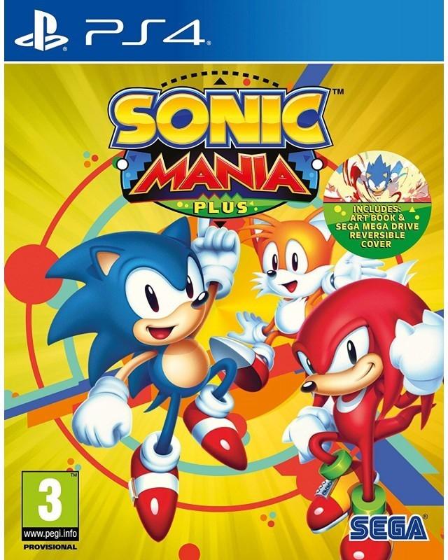 Sonic Mania Plus sur PS4 (vendeur tiers)