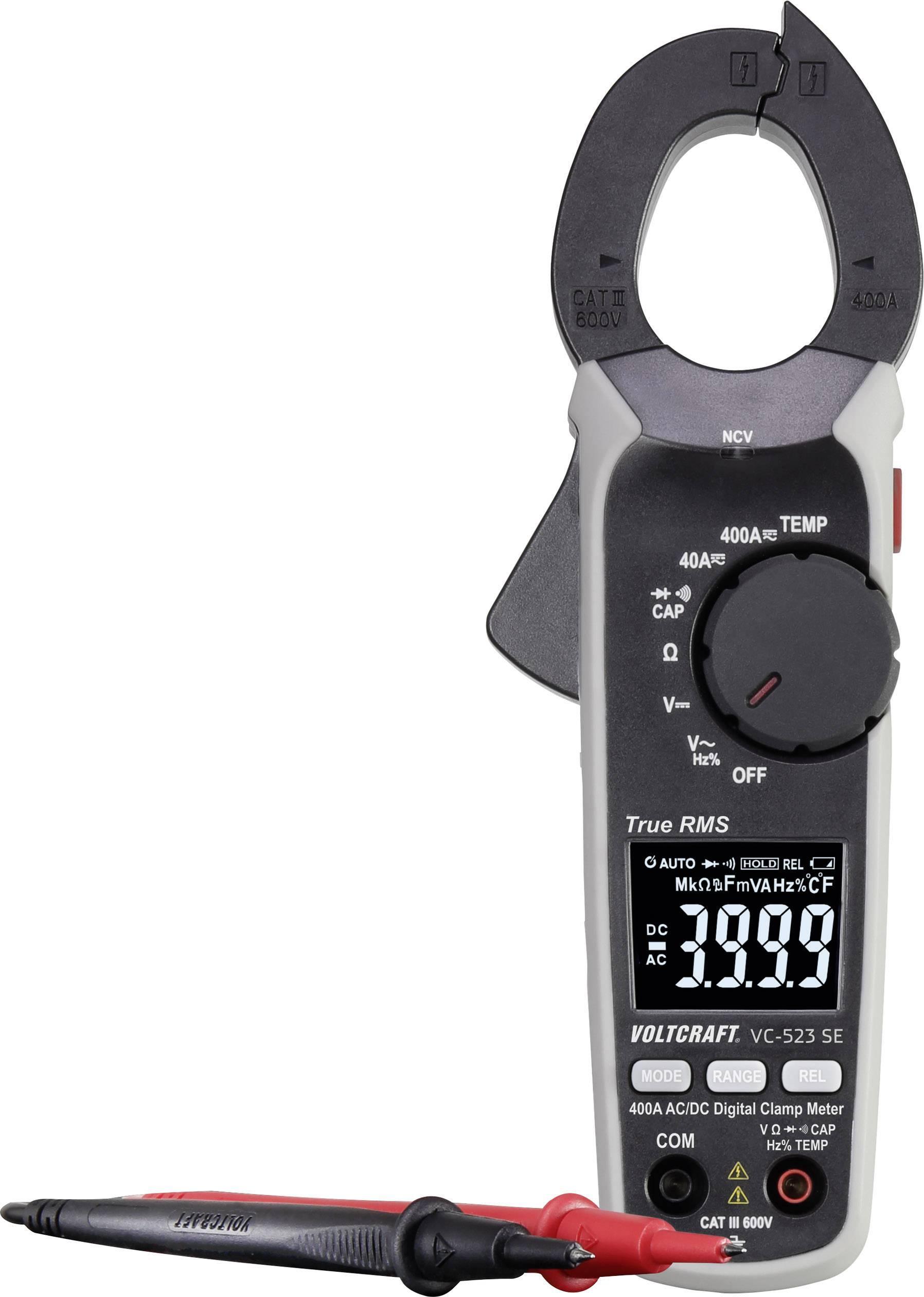 Pince ampèremètre numérique VoltCraft VC-523 SE (24.99€ avec le code WELCOME19)