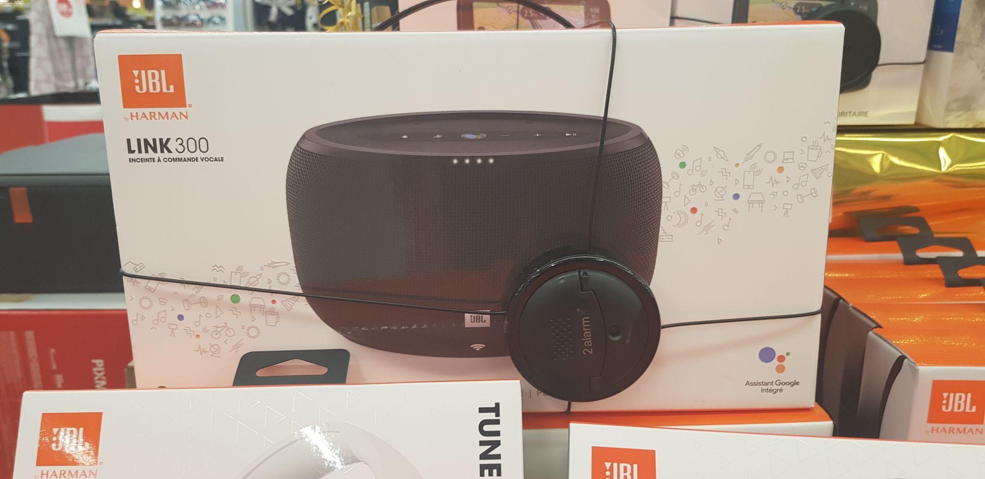 Enceinte bluetooth sans-fil avec assistant vocal JBL LINK300 - Google Home - Josselin (56)