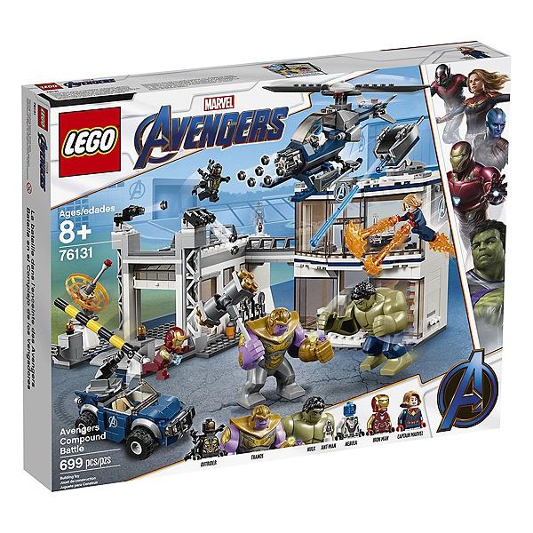 30% de réduction sur tout l'univers LEGO (via la carte de fidélité) - Ex : Lego L'attaque Du QG Des Avengers (via 28,04€ sur la carte)
