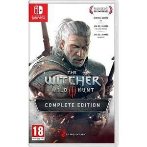 The Witcher 3 Wild Hunt Complete Edition sur Nintendo Switch