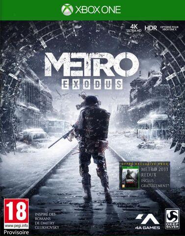 Metro Exodus sur Xbox One et PS4