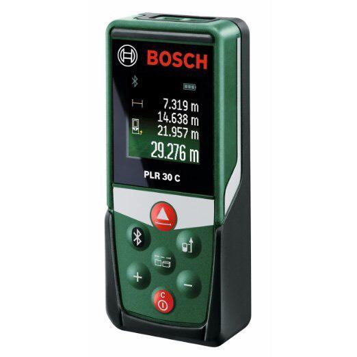 Télémètre laser Bosch connecté PLR 30C