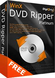 Logiciel WinX DVD Ripper Platinum Gratuit sur PC (Dématérialisé)