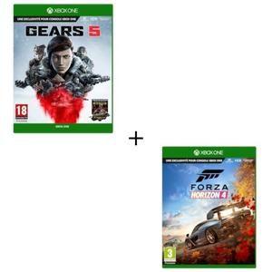 Jeux Gears 5 + Forza Horizon 4 sur Xbox One