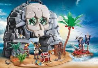 Jouet Playmobil Ile des Pirates Transportable 70113 (Via Carte de FIdélité)