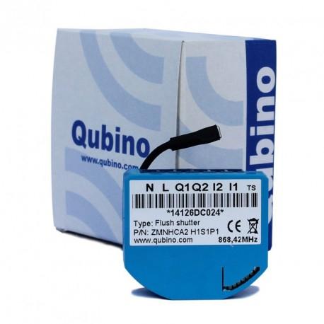 Micromodule Z-Wave Plus Qubino Flush Shutter ZMNHCD1 pour Volets Roulants avec Mesure de Consommation