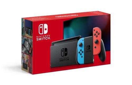 Pack Console Nintendo Switch + Mario Kart 8 Deluxe + Paire de Volants