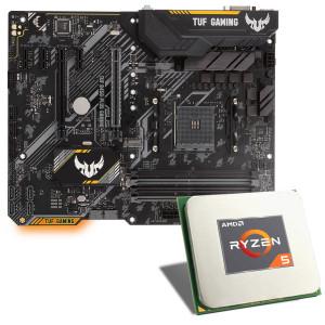 Processeur AMD Ryzen 5 3600 + Carte Mère Asus TUF B450-Plus Gaming + Abonnement Xbox Game Pass 3 Mois