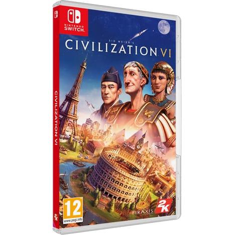 Jeu Sid Meier's Civilization VI sur Nintendo Switch (via 25€fidélité)