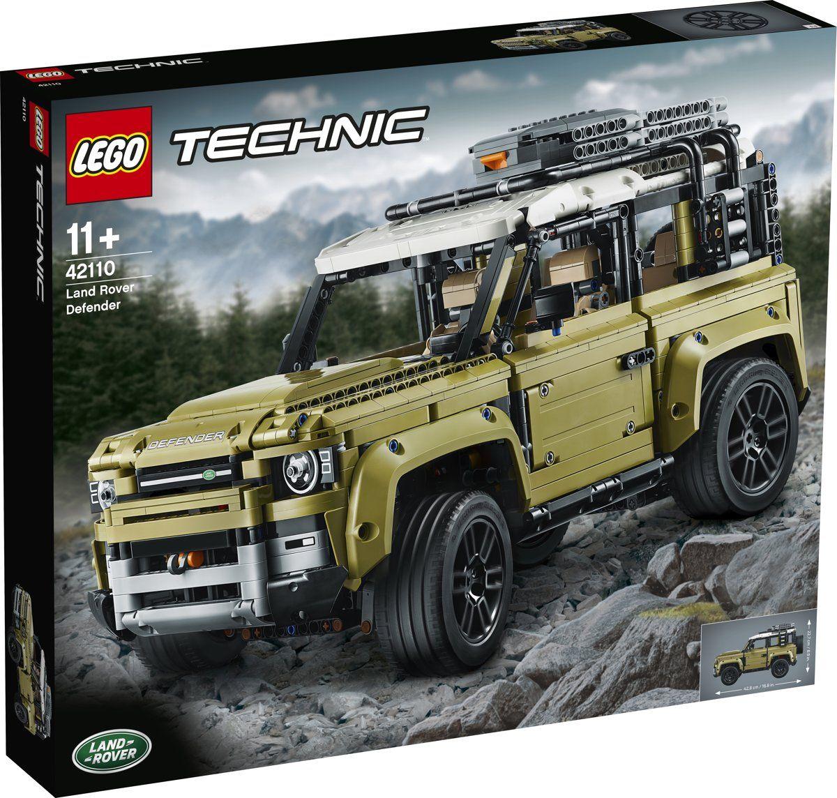 Sélection de Jeux de Construction Lego Technic en Promotion - Ex: Land Rover Defender 42110