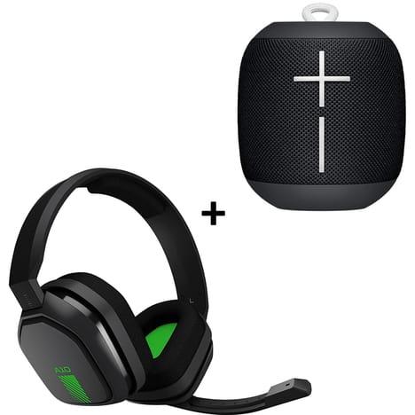 Pack Enceinte Ultimate Ears Wonderboom + Casque Gamer Astro A10 (Via 87.49€ sur la carte de Fidélité)