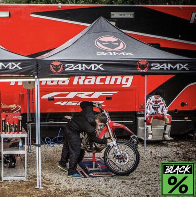 Tente paddock / Tonnelle 24MX Race 3X3M Easy-UP (sans cloisons)