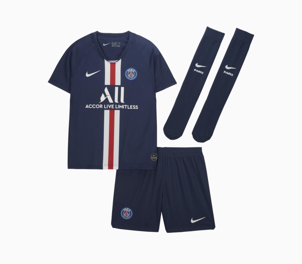 Kit Paris Saint Germain 19/20 Enfant