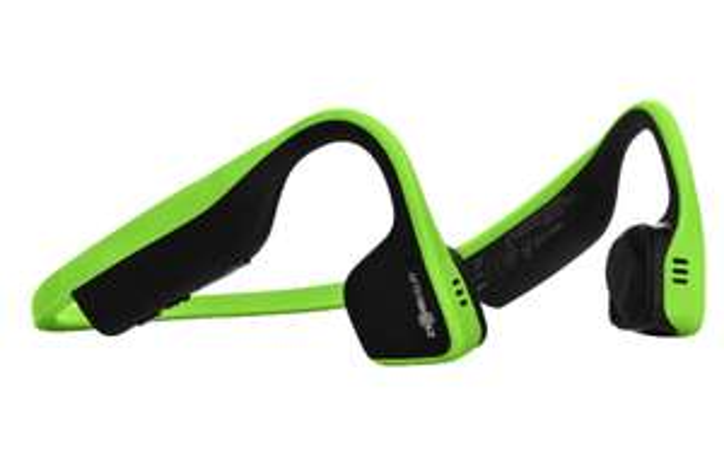 Casque audio à conduction osseuse Aftershokz Trekz Titanium - Vert, Bluetooth