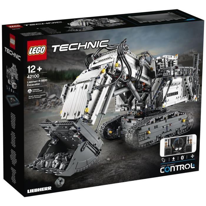 Lego Technics 42100 - Pelleteuse Liebherr R9800 (Via 30% sur Carte Fidélité) - Reze (44)