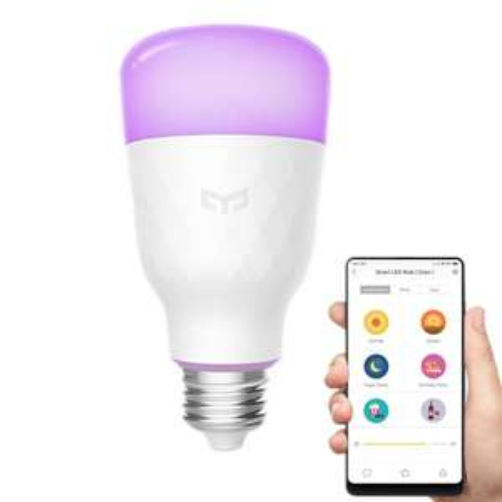 Ampoule connectée Xiaomi Yeelight RGB YLDP06YL (V2) - RGBW, E27