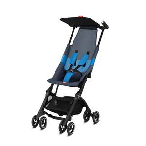 Poussette GB Gold Pockit Air All Terrain Night - Blue