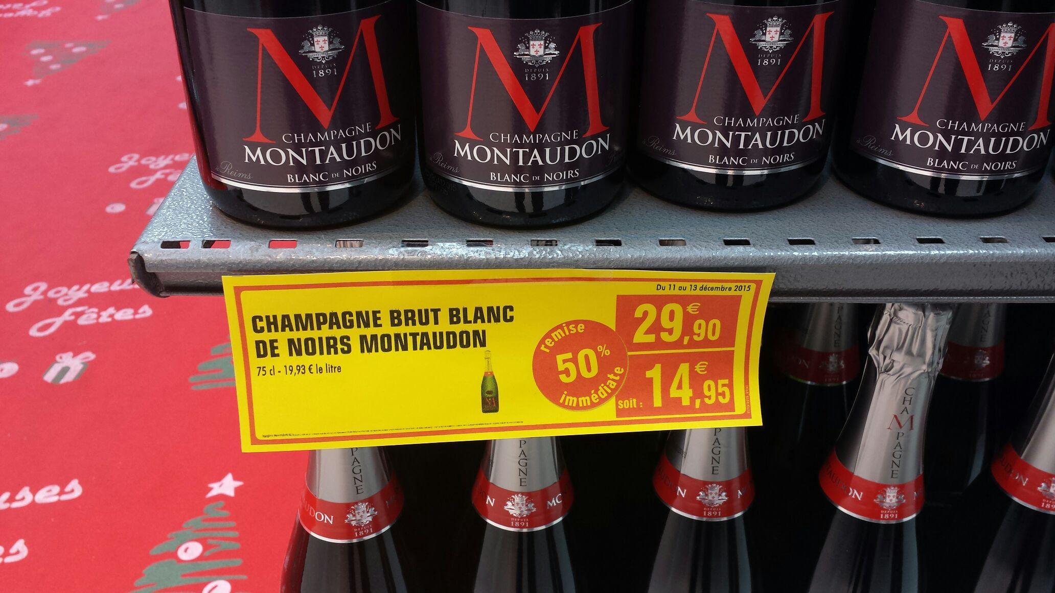 Champagne Brut Montaudon Blanc de noirs 75cl